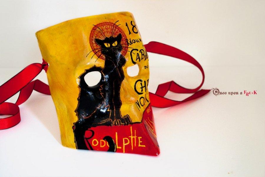 mascara veneciana bauta le chat noir