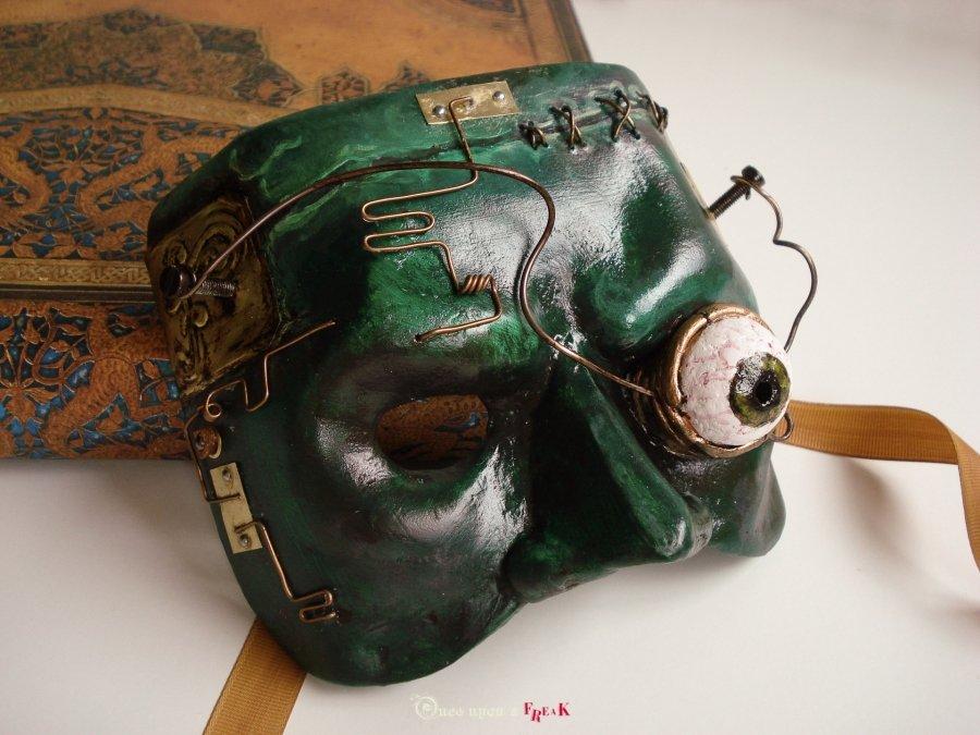 mary shelley0s frankenstein antifaz estilo steampunk