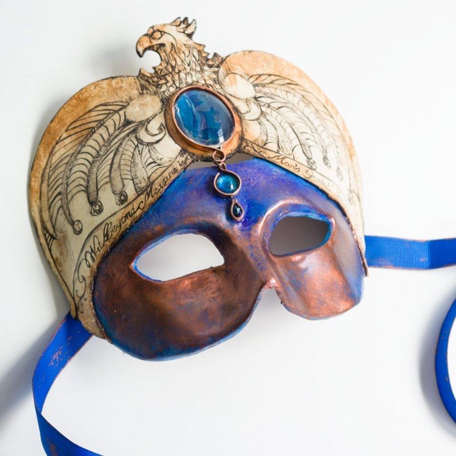 máscara mago