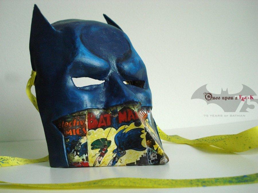 máscara de batman estilo pulp veneciana