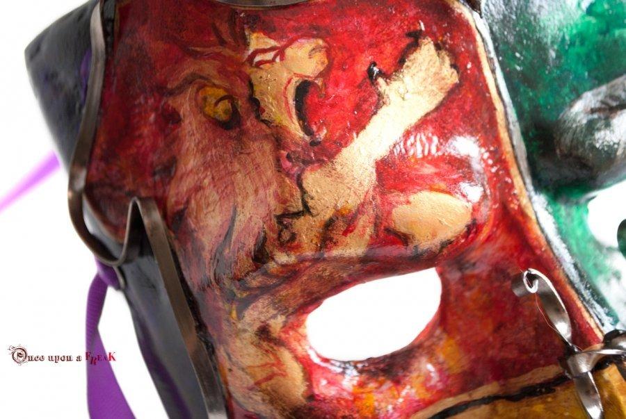 máscara bauta hogwarts gryffindor