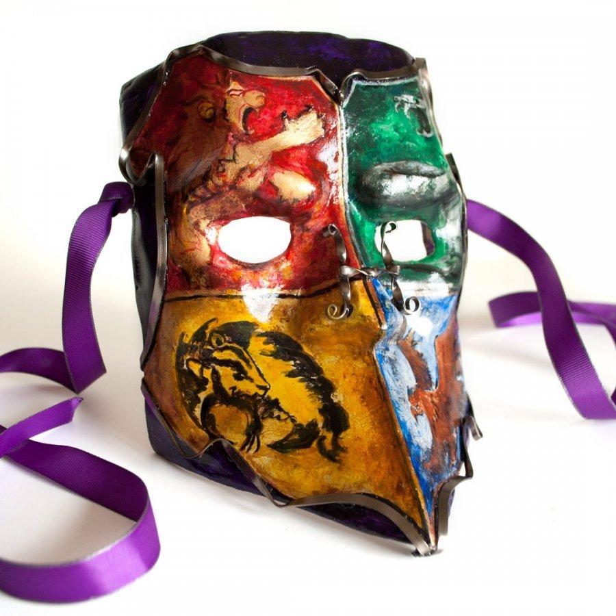 mascara veneciana de bauta de hogwarts