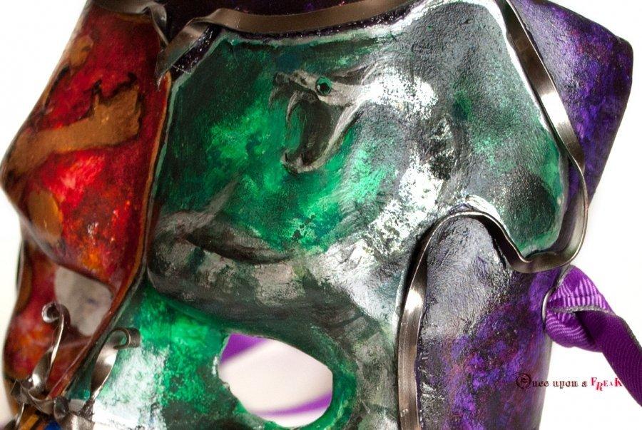 máscara bauta hogwarts slytherin
