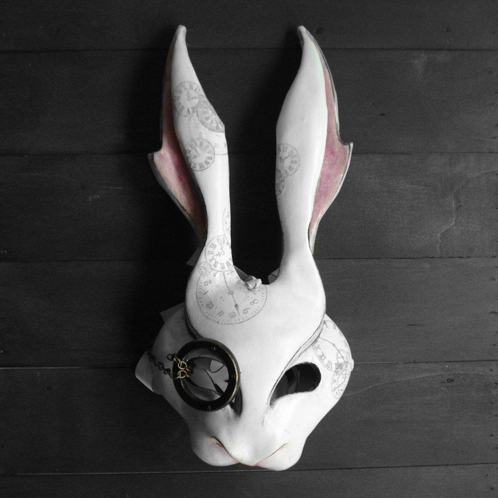mascaras venecianas de conejo