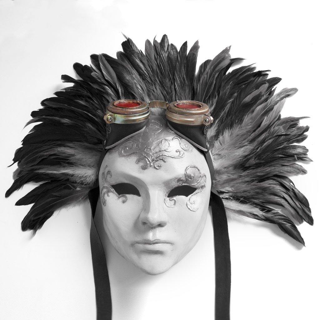 mascaras venecianas de dama hechas a mano