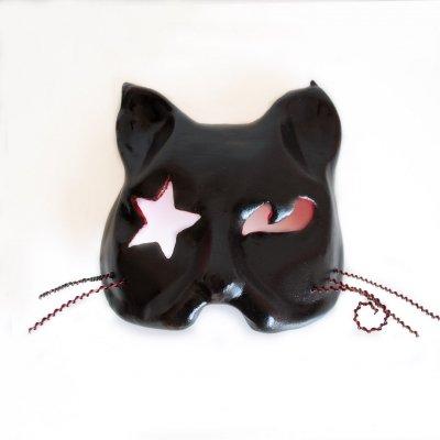 máscara veneciana de Mistery, el gato de emily the strange