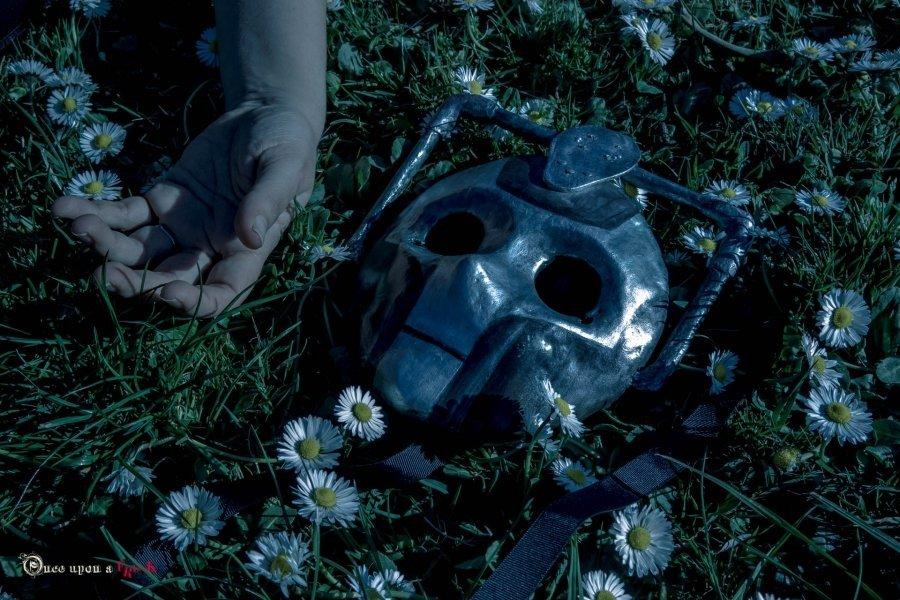 mascara moretta cyberman doctor who Muerte en el cielo