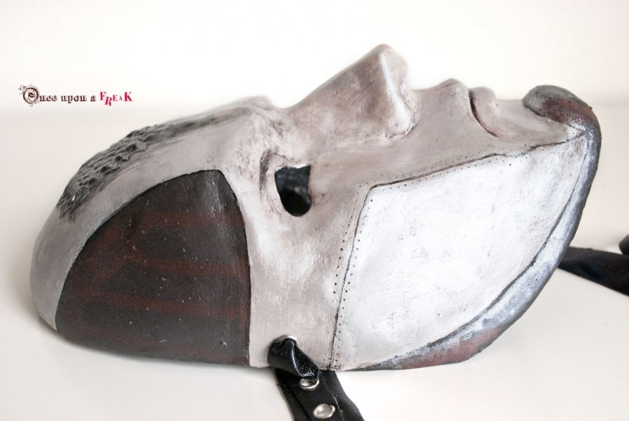 máscara veneciana de la casa stark , cosplay de juego de tronos