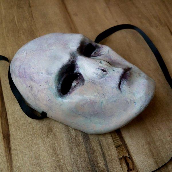 mascara veneciana de voldemort para cosplay